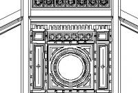 Fassaden- und Gebäudeinnenaufnahme